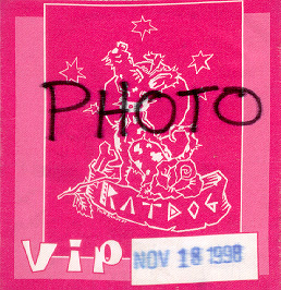 1998 Ratdog photo pass