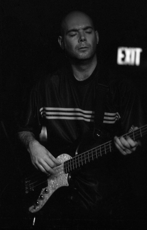 Tom McKay, bassist from Joydrop performing at the Saint in Asbury Park, NJ