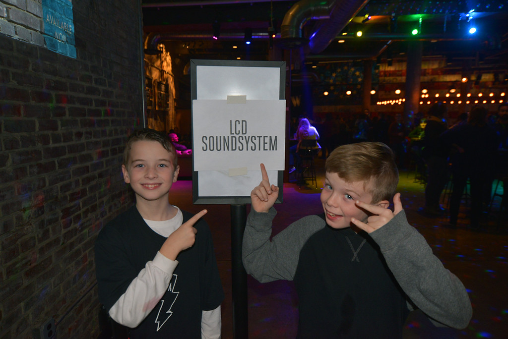 At their 1st LCD show!  They were so excited.