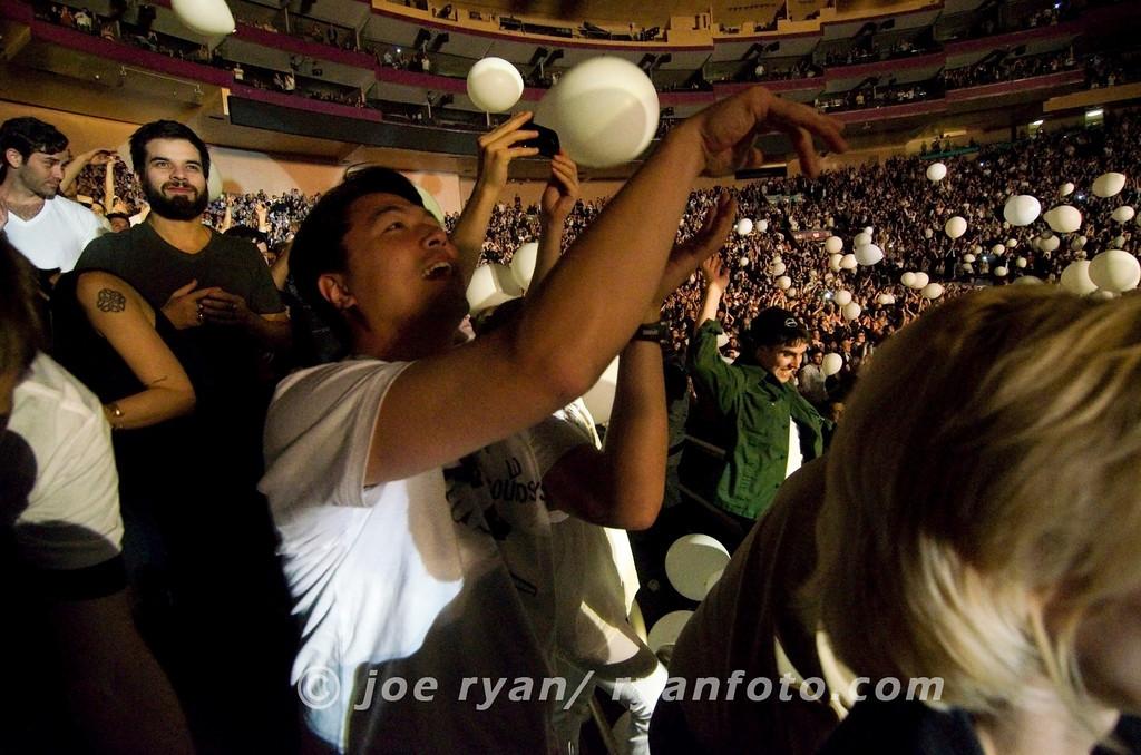 LCD Soundsystem's last concert<br /> Madison Square Garden, NYC<br /> April 2, 2011