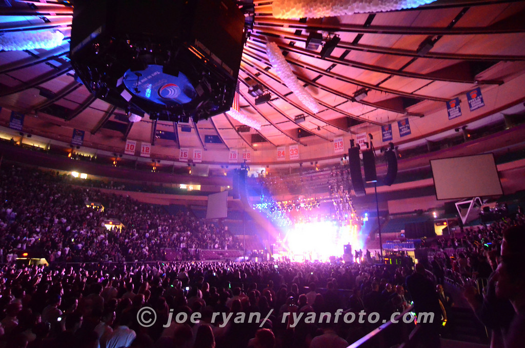 LCD Soundsystem's last concert<br /> Madison Square Garden, NYC<br /> April 2, 2011