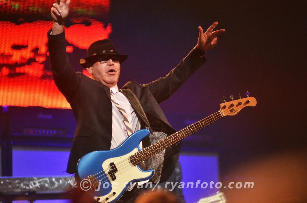 Founding member of Styx, Chuck Panozzo<br /> Borgata Event Center, Atlantic City, NJ<br /> July 1, 2012