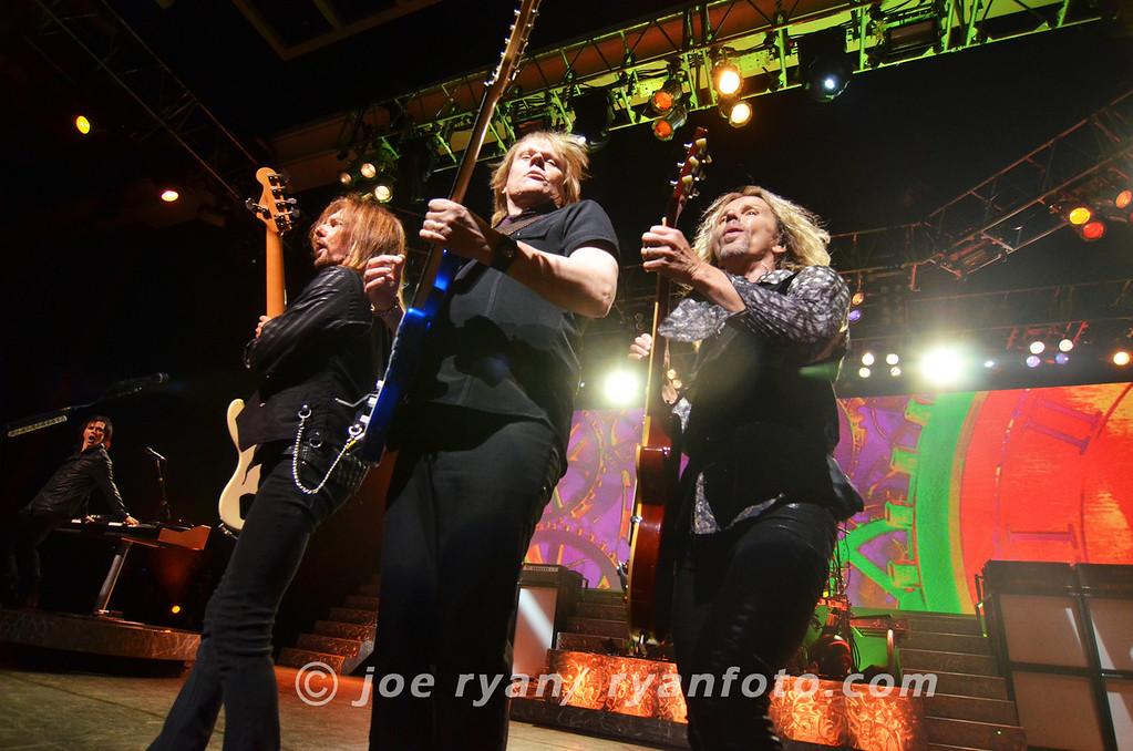 Styx<br /> Borgata Event Center, Atlantic City, NJ<br /> July 1, 2012