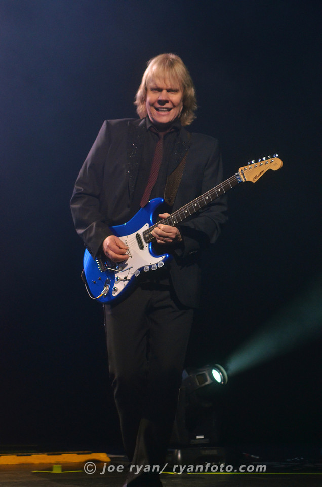 James Young of Styx<br /> Borgata Event Center, Atlantic City, NJ<br /> July 1, 2012