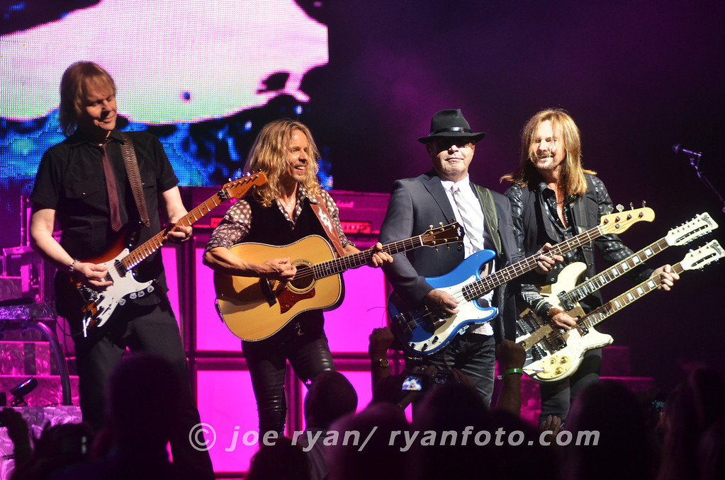 Styx w/ original member, Chuck Panozzo<br /> Borgata Event Center, Atlantic City, NJ<br /> July 1, 2012