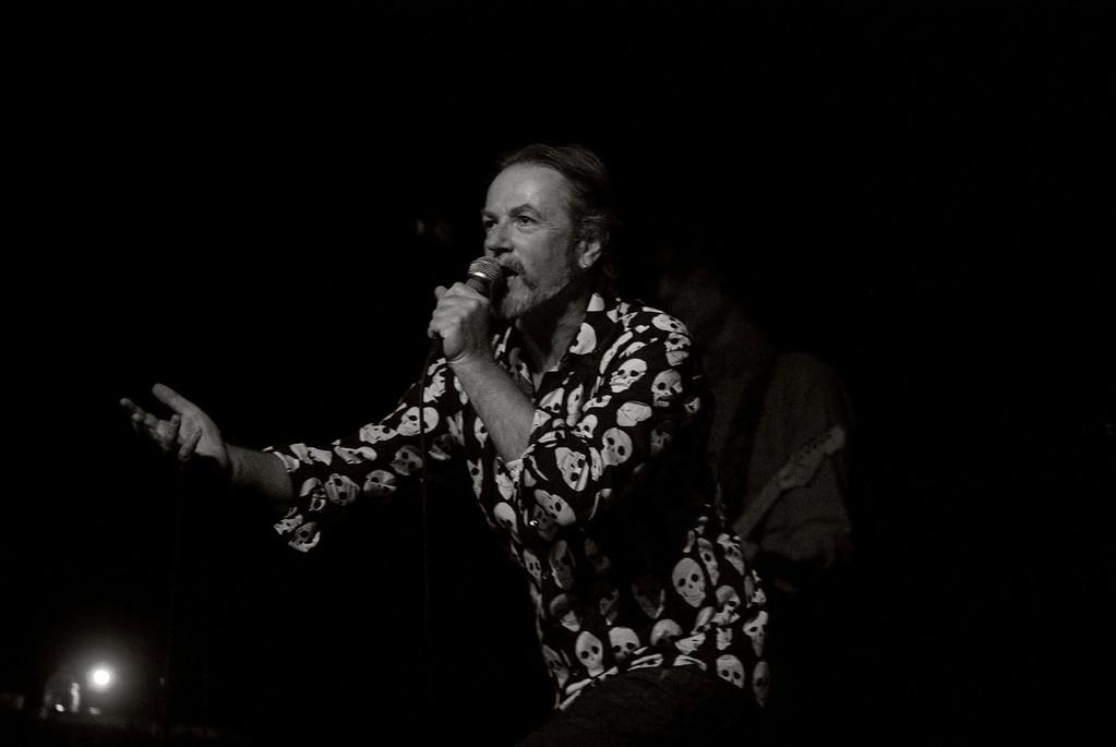 Steve Kilbey of The Church performing 'The Disllusionist '<br /> Trocadero Theatre, Philadelphia, PA<br /> February 15, 2011