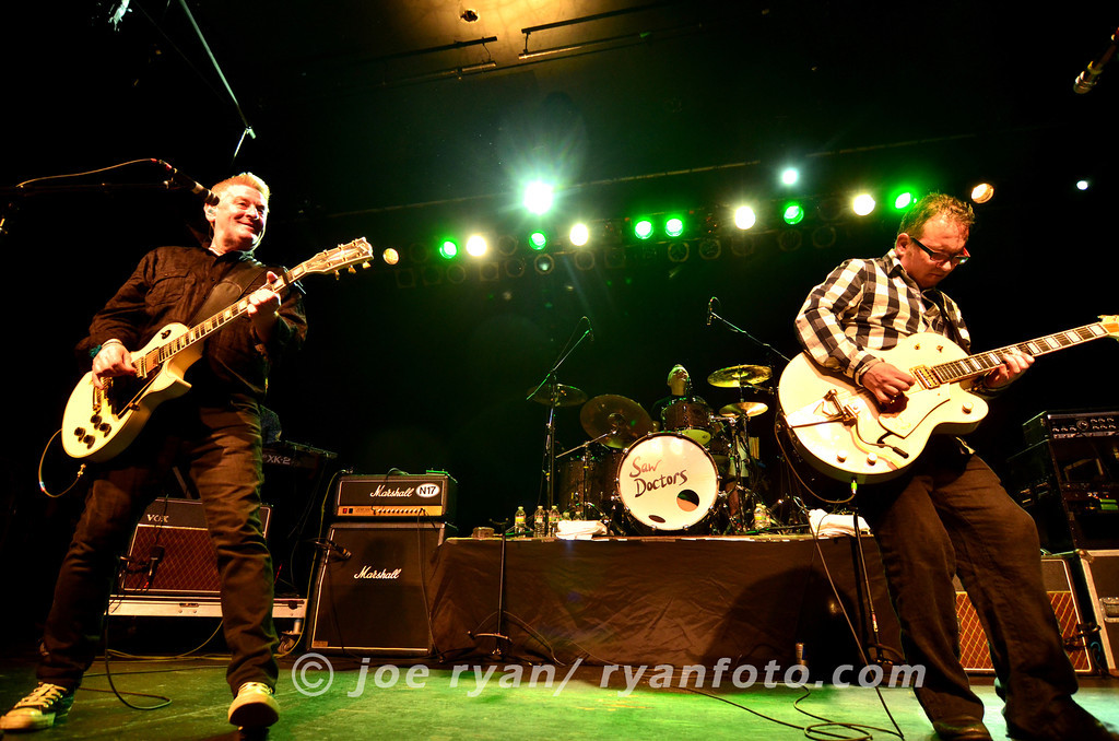 The Saw Doctors<br /> Theatre of the Living Arts/ Philadelphia, PA <br /> March 13, 2012