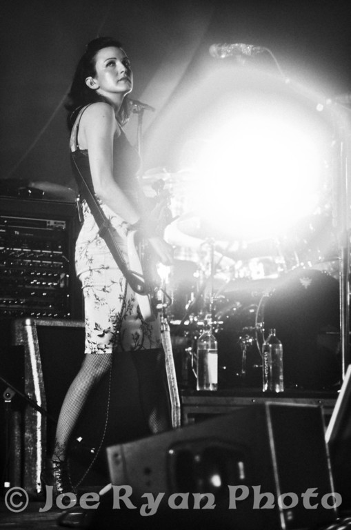 Nicole Fiorentino of Smashing Pumpkins<br /> Susquehanna Bank Center/ Camden, NJ <br /> December 8, 2012