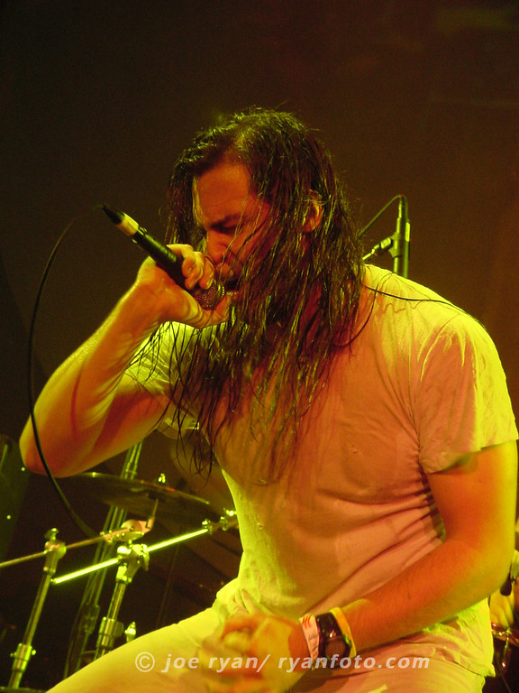 Andrew W.K.<br /> The Ramones Tribute<br /> New York, NY<br /> October 8, 2004