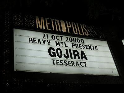Gojira Metropolis 21-10-16