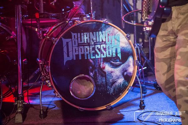 Burning The Oppressor Petit Campus 14-04-17