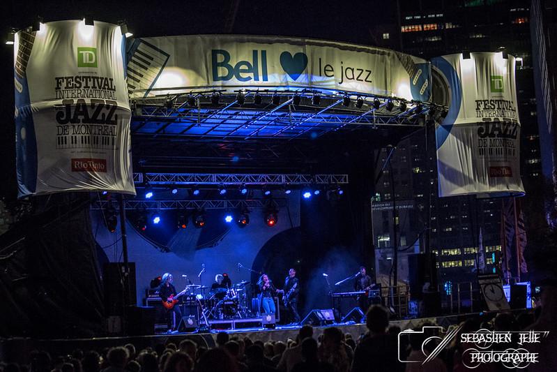 Festival de Jazz Lee Aaron Electric Blues Extérieur 08-07-17
