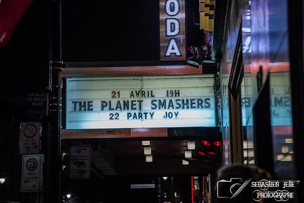 The Planet Smashers Club Soda 21-04-17