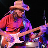 Fast slide has always been Dickey Betts' trademark, seen here in motion at a 2006 perfromance in Falls Church, Virginia.