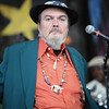A serious looking Dr. John at the 2006 Detroit International Jazz Festival