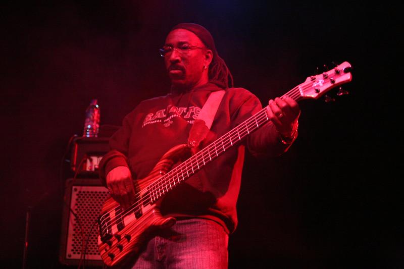 Nick Daniels of Dumpstphunk at the 2008 Bear Creek Festival on the Spirit of the Suwanee grounds, Live Oak, Florida