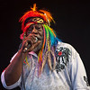 George Clinton performing with Parliament Funkadelic at the Gathering of the Vibes festival in Bridgeport, CT, August 2009.