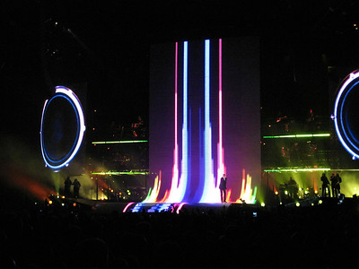 "George Michael concert, ""The Final One"", ending his 25Live Tour in Parken, Copenhagen, Denmark"