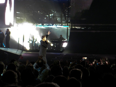 "George Michael concert, ""The Final One"", ending his 25Live Tour in Parken, Copenhagen, Denmark"