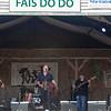 Steve Riley & Mamou Playboys on the Fais Do Do stage, April 26.