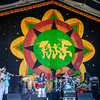 """Walter """"Wolfman"""" Washington and his band at the Congo Square stage, April 28."""