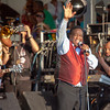Al Green reminding us that Love & Happiness are what we share at Jazz Fest, as he gets the crowd involved during his set on the Congo Square stage, April 28.