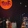 Astral Project, minus saxaphonist Tony Dagrad, in the Jazz tent on April 26.