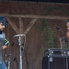 Dwayne Dopsie and Alex MacDonald ( Washboard ) jamming on the Fais Do Do stage, April 26.