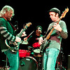 The Anders Osborne band -- Anders on guitar, Carl Dufrene on bass and Eric Bolivar on drums -- at their set at the Soundstage in Baltimore, MD (2-10-12).