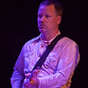 KDTU bassist Chris Stillwell playing guitar as a sit in guest with Anders Osborne's band during their set at the Soundstage in Baltimore, MD (2-10-12).