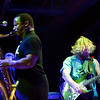 Karl Denson and Anders Osborne during their perfromance of the Rolling Stones' Sticky Fingers album at the Soundstage in Baltimore, MD (2-10-12).