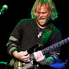 Anders Osborne playing slide guitar during his band's set at the Soundstage in Baltimore, MD (2-10-12).