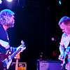 Anders Osborne jams with KDTU's bassist Chris Stillwell, here doing a sit in on guitar during Ander's set at the Soundstage in Baltimore, MD (2-10-12).