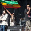 Damian Marley and NAS during their set at Rothbury 2009
