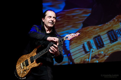 Александр Горячев, соло гитара at Aladdin Theater in Portland, OR.