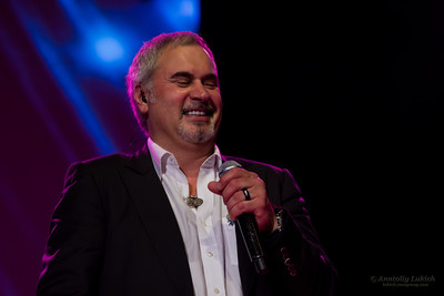The famous Russian pop singer Valeriy Meladze (Валерий Меладзе) and his band perform at Aladdin Theater in Portland, OR.