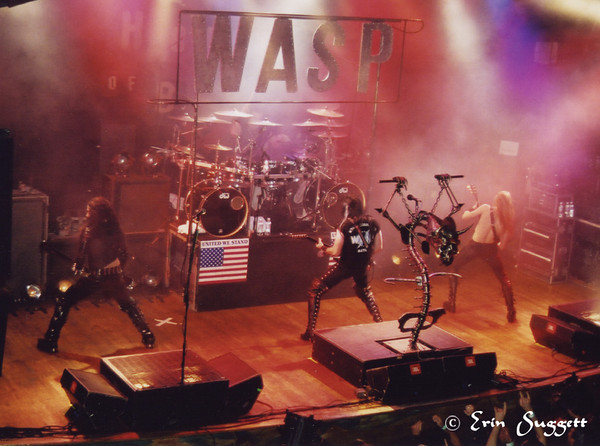 W.A.S.P. at the House of Blues Hollywood © Erin Suggett Photography 2001. All Rights Reserved.