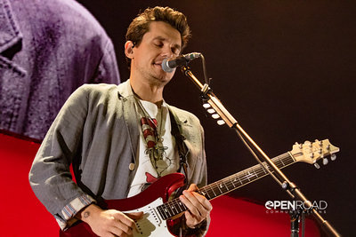 John Mayer and band