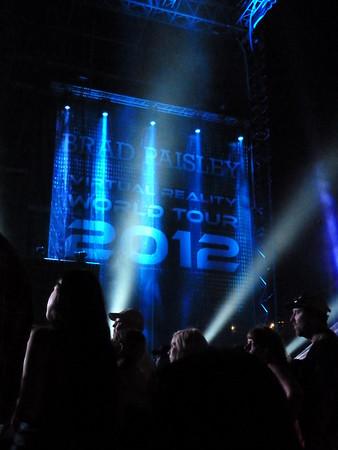Brad Paisley w/Jerrod Niemann, Chris Young & Miranda Lambert ~ Wrigley Field Chicago ~ 6/9/12