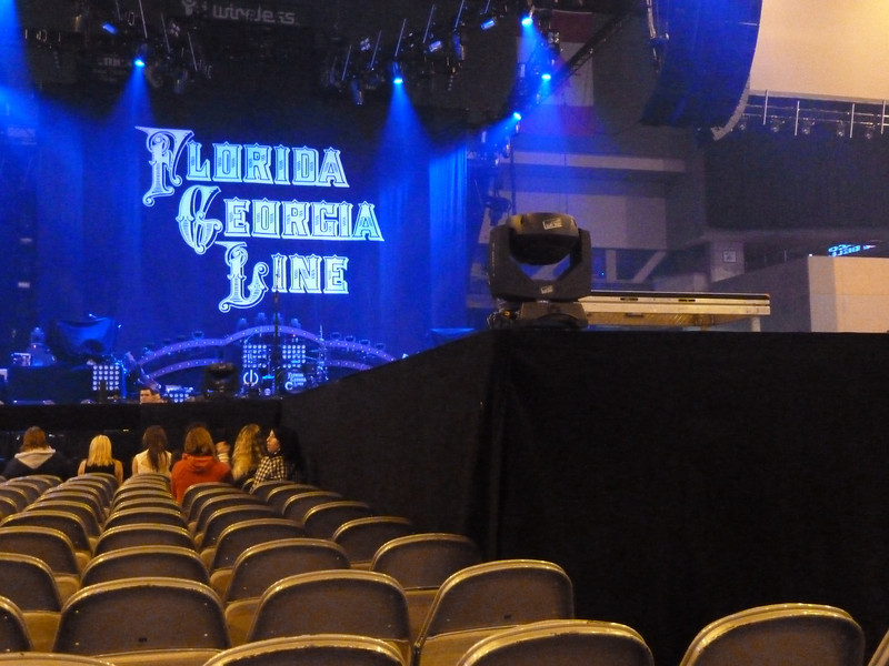 Looks like we got decent seats thru the Nuthouse!! ;-)