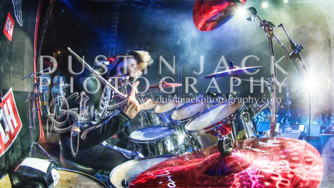 Jeremy Spencer 5 finger death punch