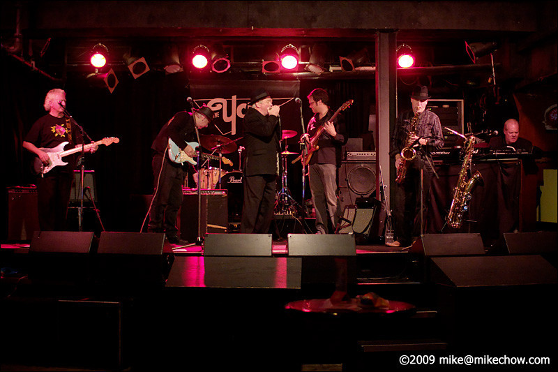 Agent C and the Top Secret, Blues for the Bank IV, The Yale, Vancouver BC, November 18, 2009.