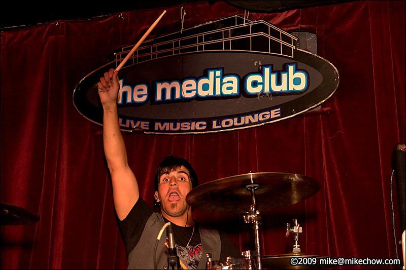 Gentlemen Prefer Blondes live at The Media Club, October 10, 2009.