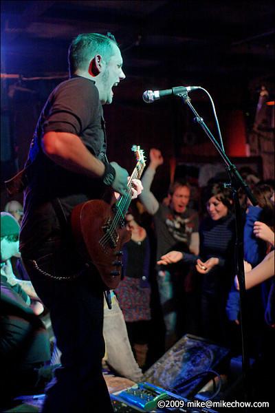 The Saints Collapse live at Pub 340, November 13, 2009.