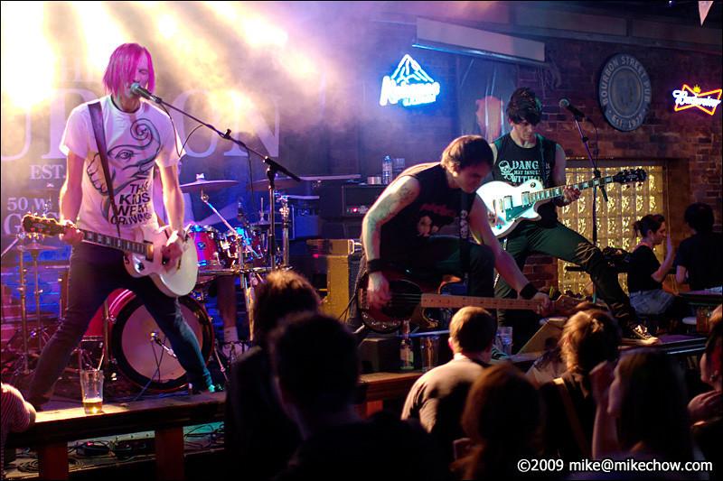 Brompton Distress Call live at The Bourbon, November 13, 2009.