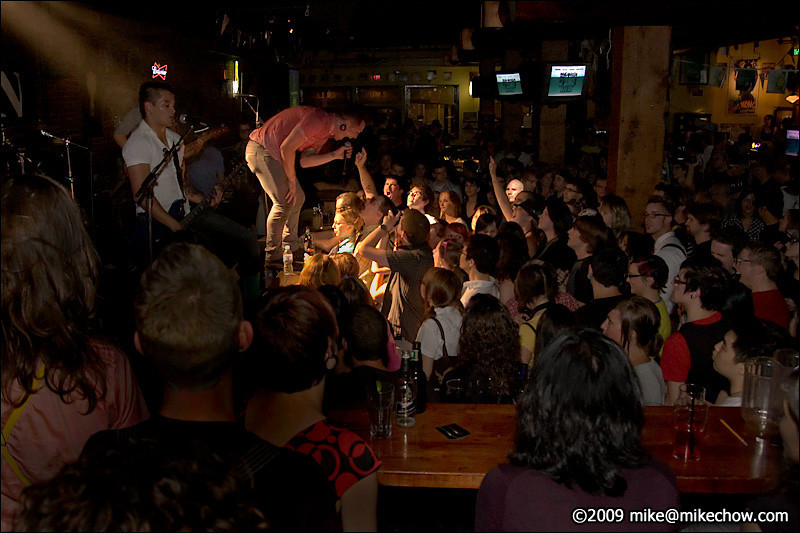Mass Undergoe live at The Bourbon, August 21, 2009.