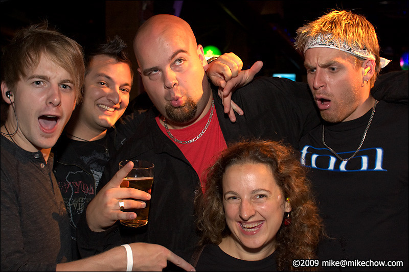 The Bourbon, August 21, 2009.