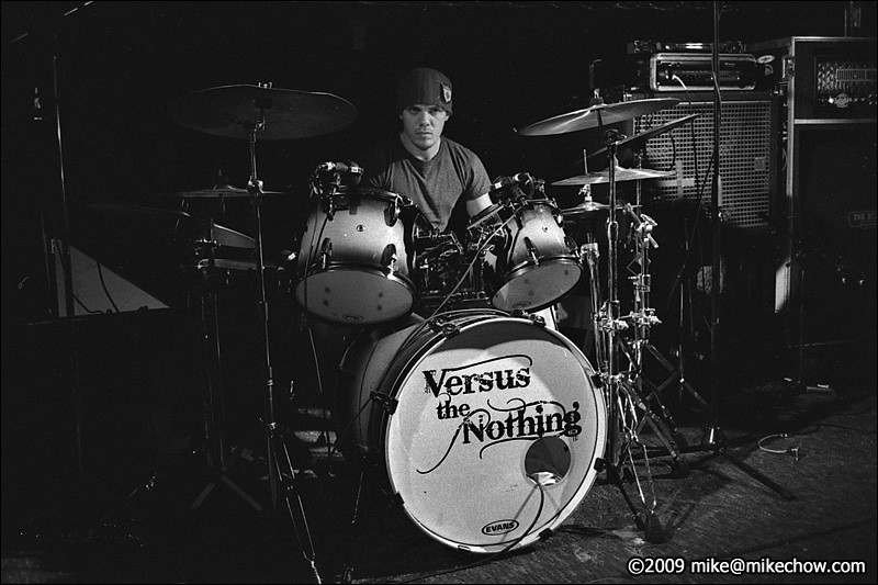 Versus The Nothing live at Pub 340, Vancouver BC, November 21, 2009.