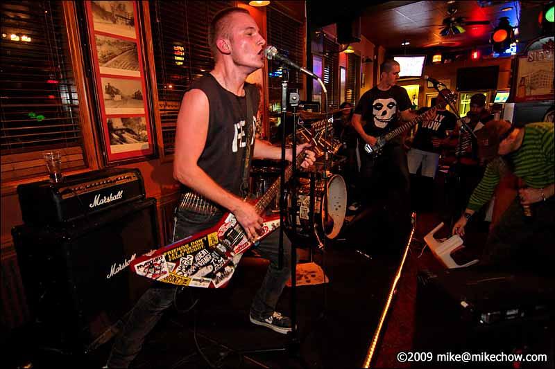 R.O.C. live at The Princeton Pub, Vancouver BC, November 19, 2009.