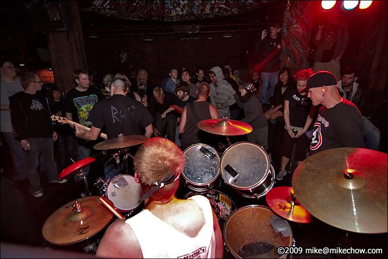 R.O.C. live at The Cobalt, September 27, 2009.